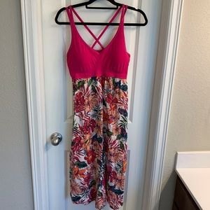 Target Pajama/ Loungewear- Floral Tank Nightgown
